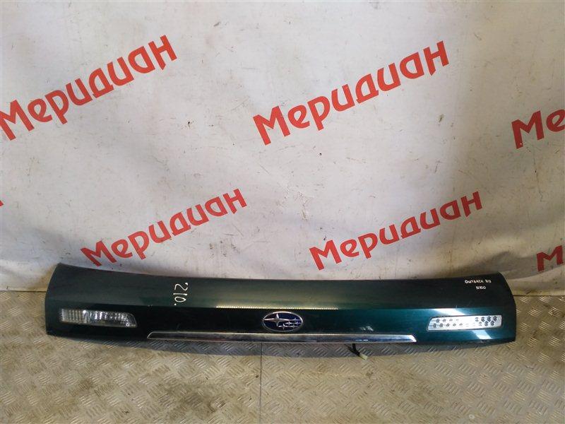 Накладка двери багажника Subaru Legacy Outback B13 2005 (б/у)