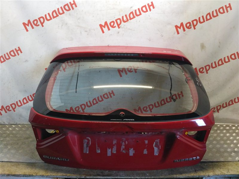 Дверь багажника Subaru Impreza G12 2011 (б/у)