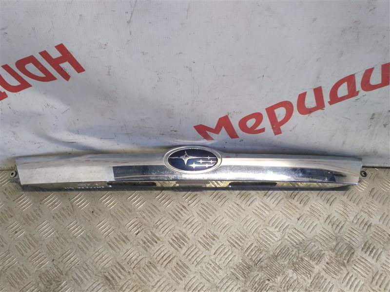 Накладка двери багажника Subaru Impreza G12 2011 (б/у)