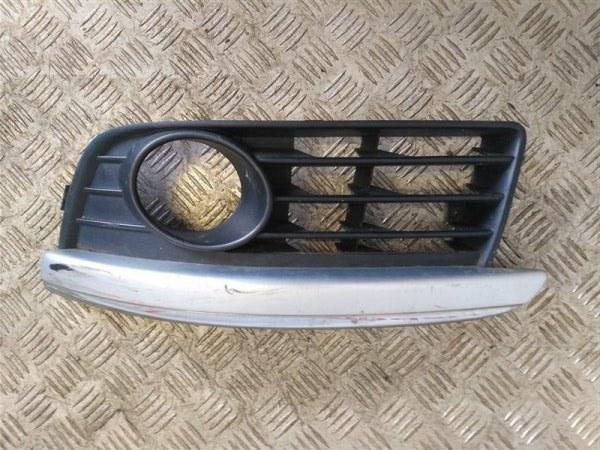Решетка в бампер левая Volkswagen Jetta V 2006 (б/у)