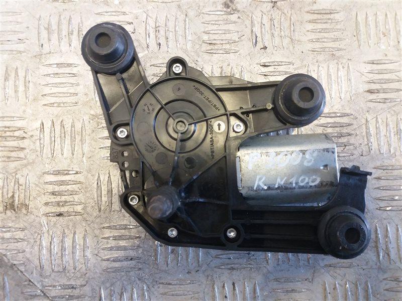 Моторчик стеклоочистителя задний Peugeot 3008 2012 (б/у)