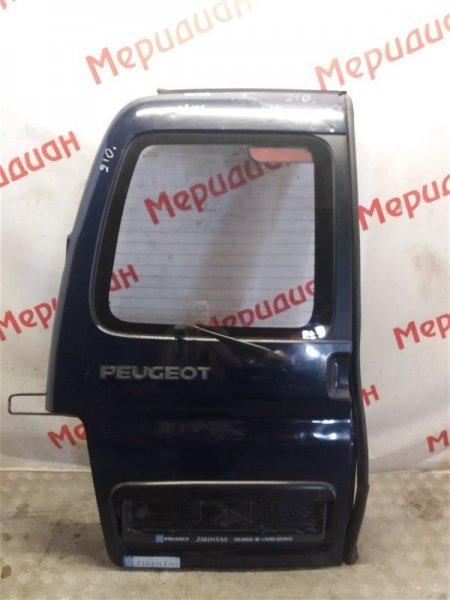 Дверь багажника левая Peugeot Partner M59 2011 (б/у)