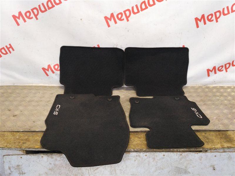 Комплект ковриков салона Mazda Cx5 2016 (б/у)
