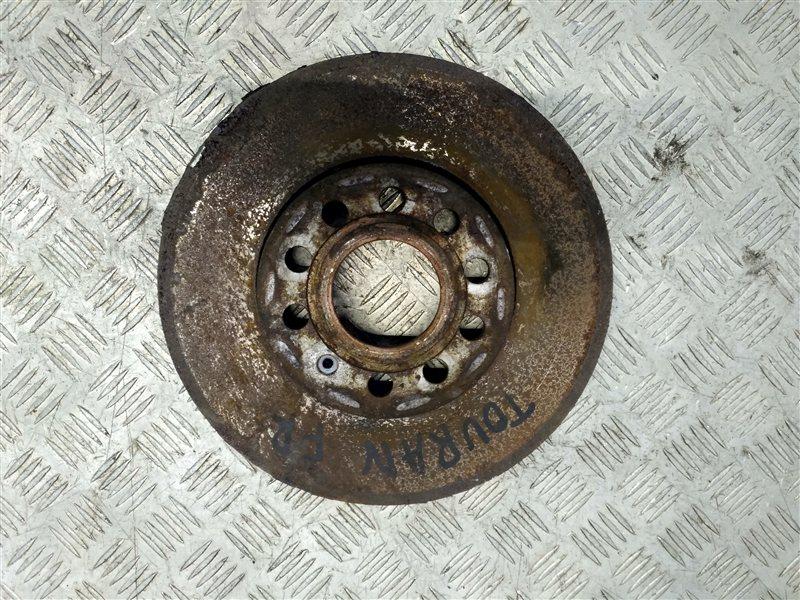 Диск тормозной передний вентилируемый Volkswagen Touran I 2.0 2009 (б/у)