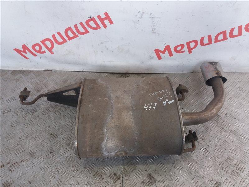 Глушитель основной Subaru Impreza G12 1.5 2011 (б/у)