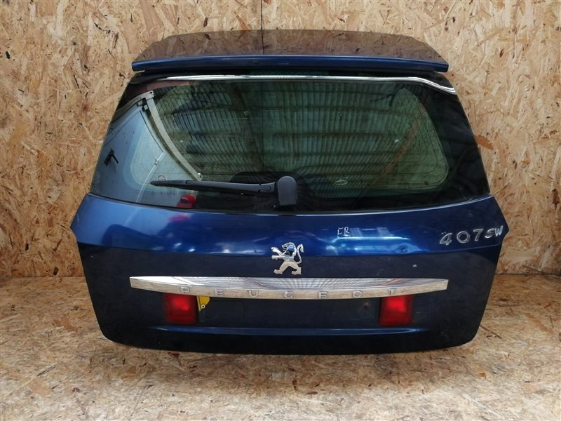 Дверь багажника Peugeot 407 (SW) УНИВЕРСАЛ 2006 (б/у)