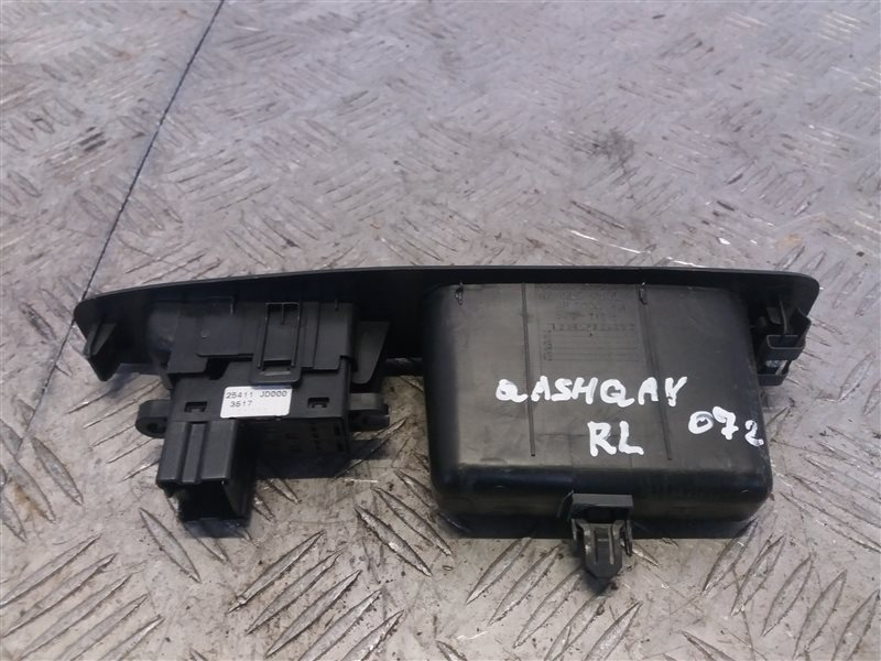 Кнопка стеклоподъемника Nissan Qashqai J10 2008 (б/у)