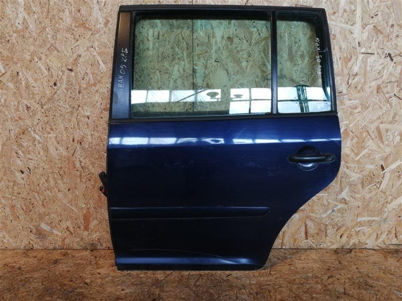 Дверь задняя левая Volkswagen Touran I 2005 (б/у)