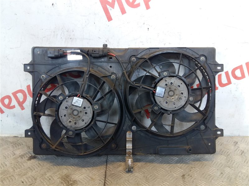 Вентилятор радиатора Volkswagen Sharan 2005 (б/у)