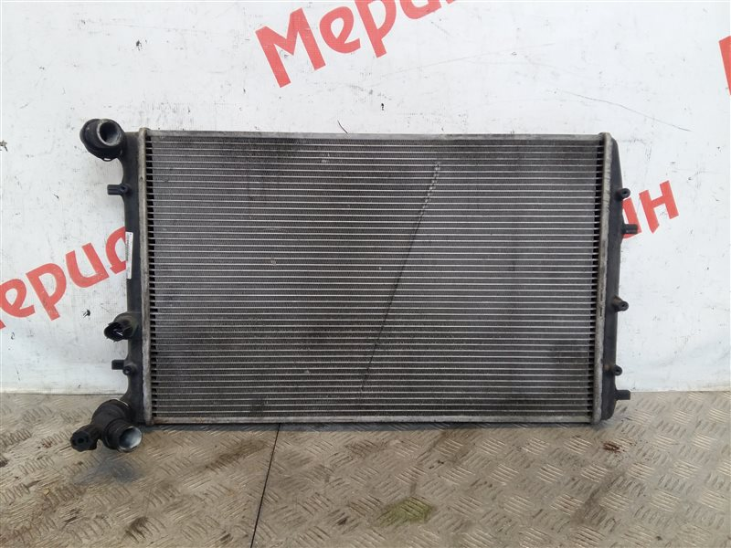 Радиатор основной Volkswagen Polo IV 2002 (б/у)