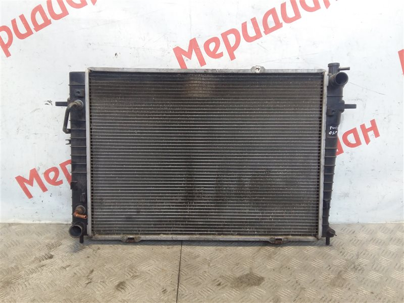 Радиатор основной Hyundai Tucson 2005 (б/у)