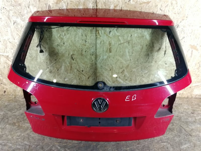 Дверь багажника Volkswagen Golf Plus 2006 (б/у)