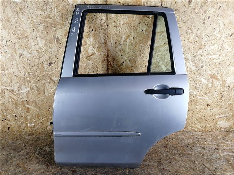 Дверь задняя левая Mazda 2 DY 2005 (б/у)