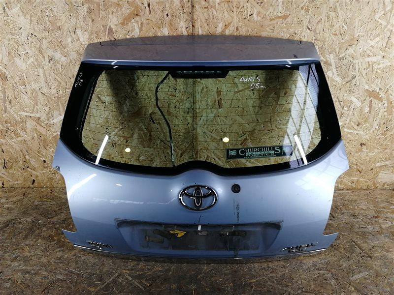Дверь багажника Toyota Auris I 2008 (б/у)