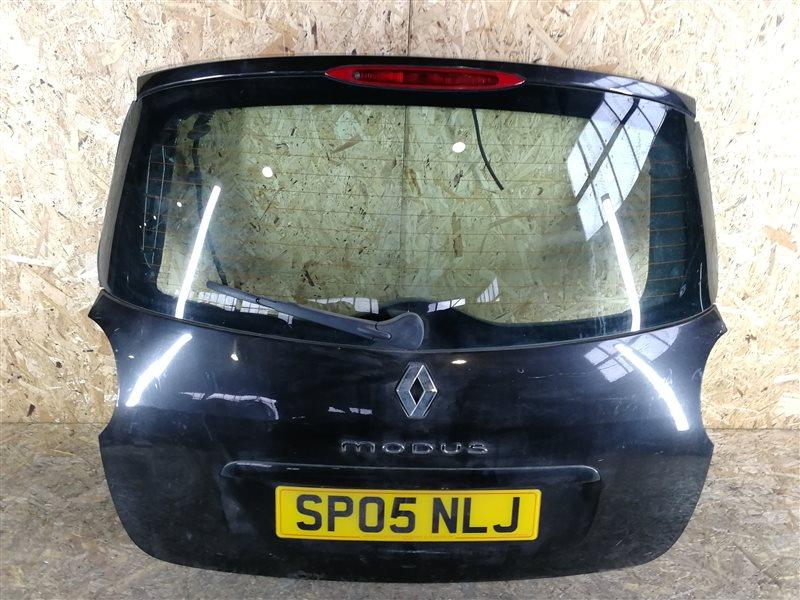 Дверь багажника Renault Modus 2005 (б/у)