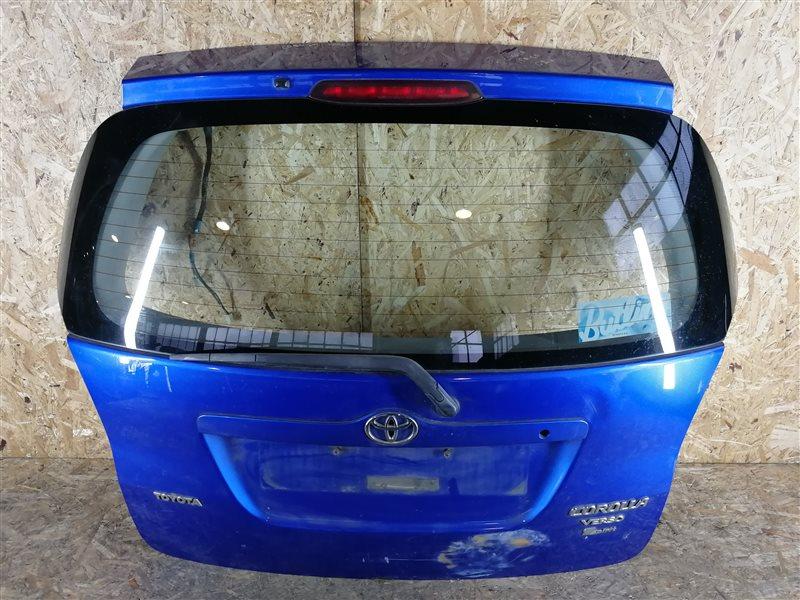 Дверь багажника Toyota Corolla Verso 2002 (б/у)