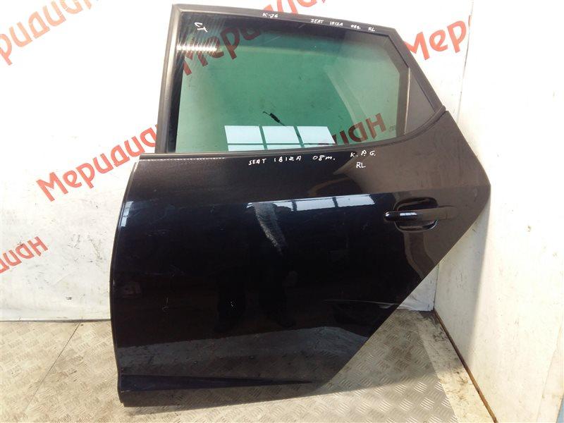 Дверь задняя левая Seat Ibiza V 2009 (б/у)