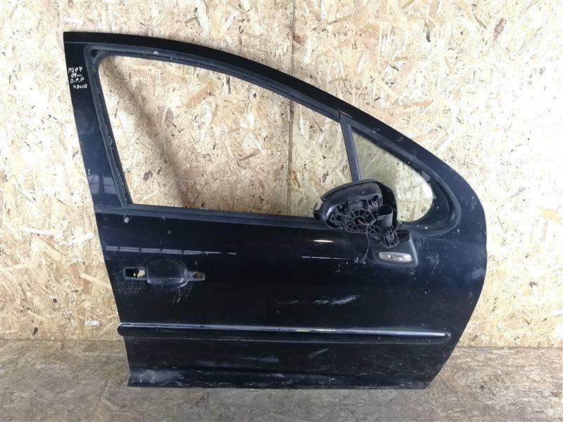 Дверь передняя правая Peugeot 207 2007 (б/у)