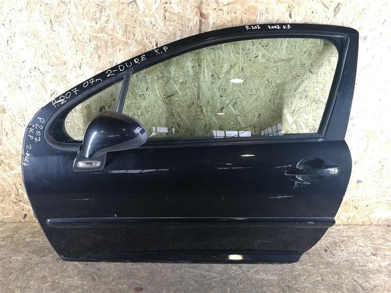 Дверь передняя левая Peugeot 207 2009 (б/у)