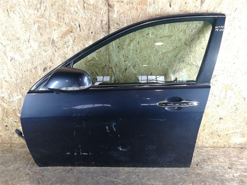 Дверь передняя левая Honda Accord VII 2008 (б/у)