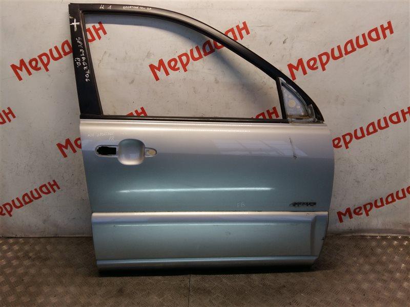 Дверь передняя правая Kia Sportage II 2005 (б/у)