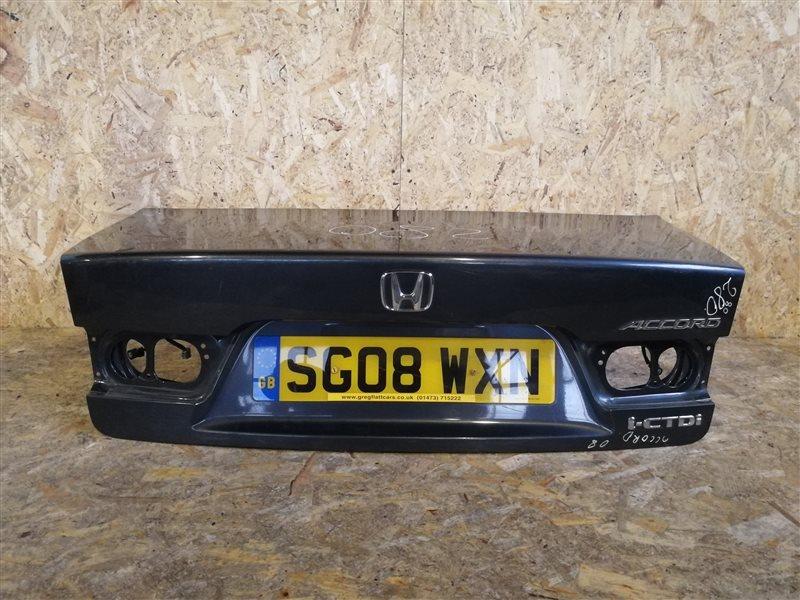 Крышка багажника Honda Accord VII 2008 (б/у)