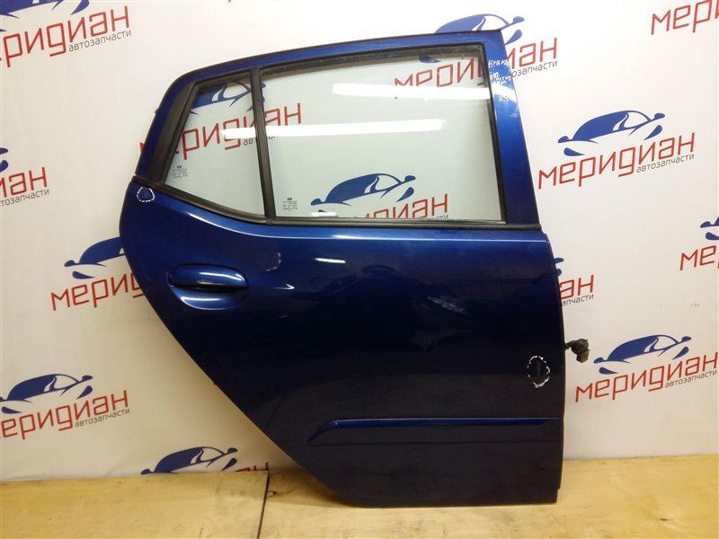Дверь задняя правая Hyundai I10 2010 (б/у)