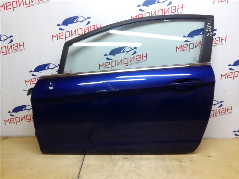 Дверь передняя левая Ford Fiesta MK6 2011 (б/у)