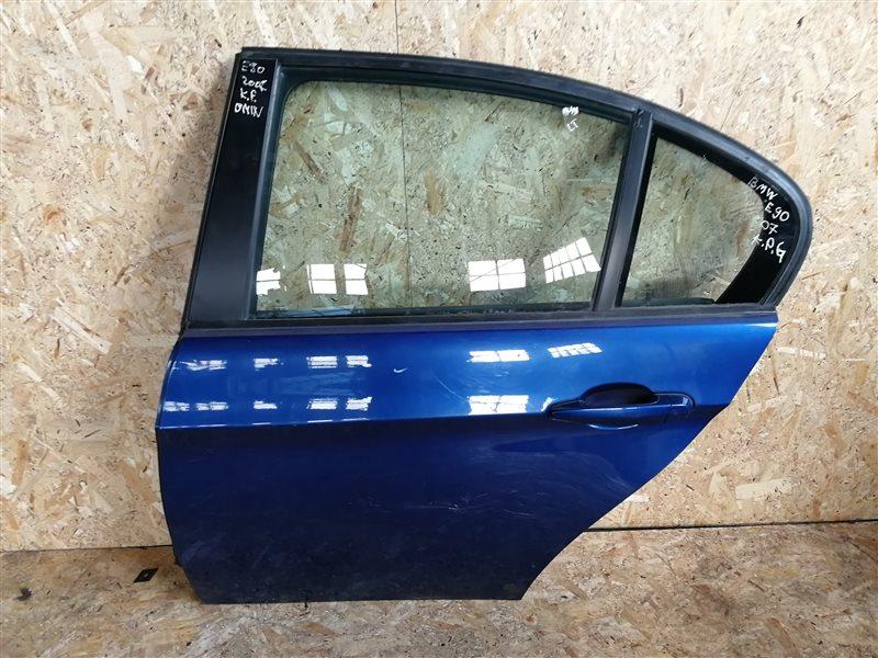 Дверь задняя левая Bmw 3-Series E90 2007 (б/у)