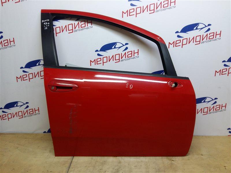 Дверь передняя правая Fiat Punto 2013 (б/у)