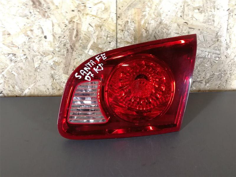 Фонарь задний внутренний правый Hyundai Santa Fe CM 2007 (б/у)