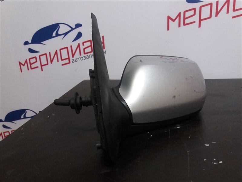 Зеркало левое механическое Mazda 2 DY 2005 (б/у)