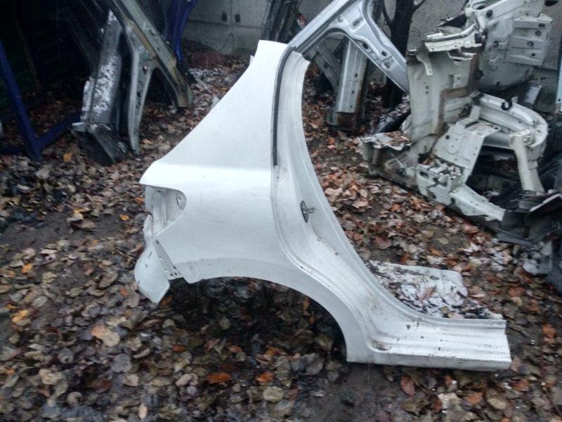 Крыло заднее правое Peugeot 207 1.6 2008 (б/у)
