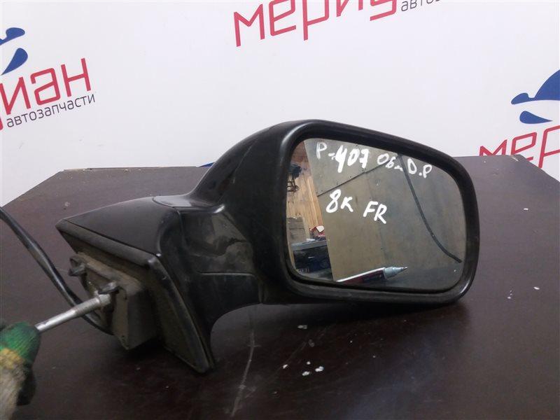 Зеркало правое электрическое Peugeot 407 2006 (б/у)