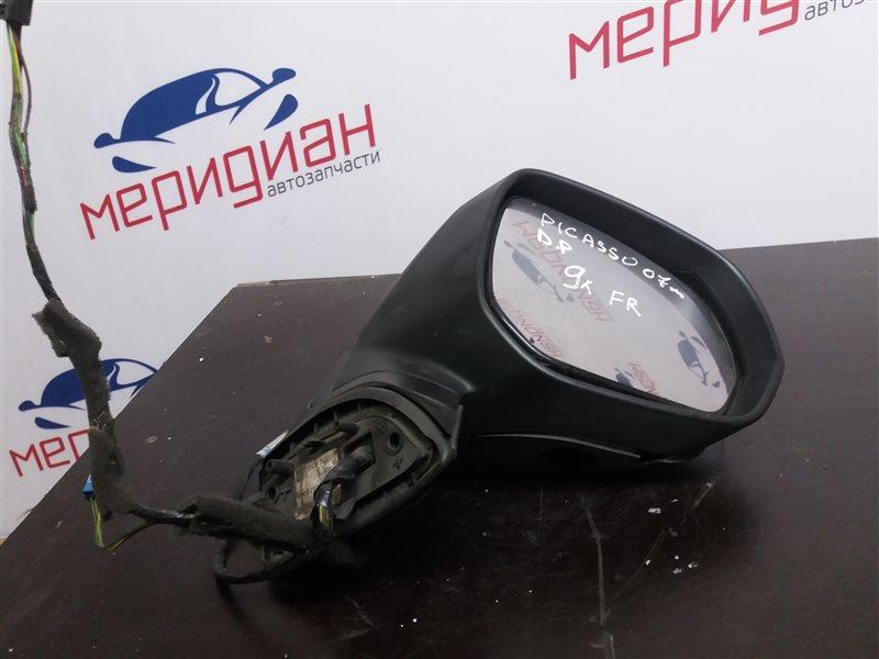 Зеркало правое электрическое Citroen C4 Picasso 2007 (б/у)