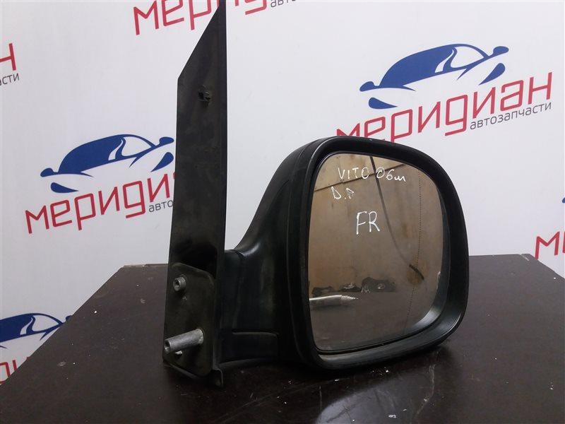 Зеркало правое механическое Mercedes Benz Vito\viano 639 2005 (б/у)