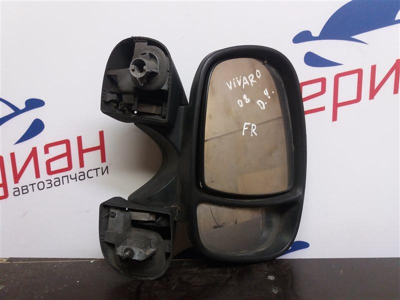 Зеркало правое механическое Opel Vivaro 2008 (б/у)