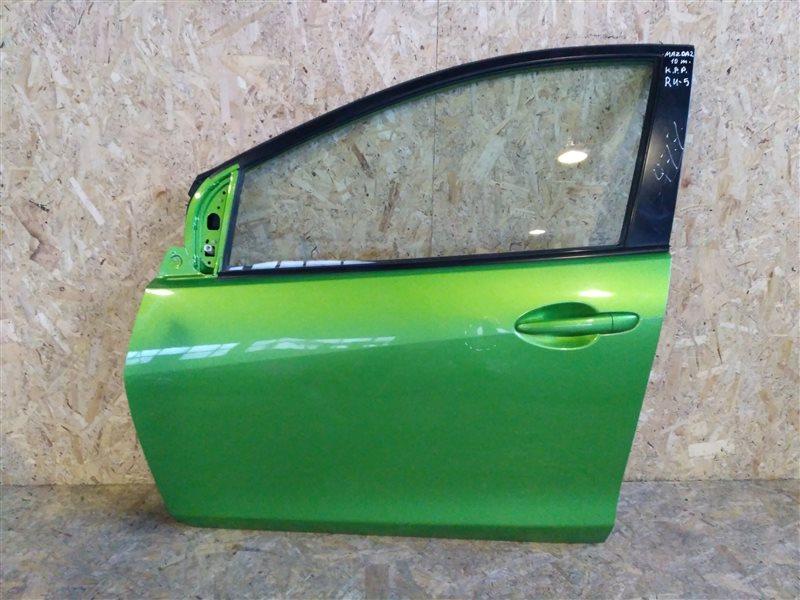 Дверь передняя левая Mazda 2 DE 2010 (б/у)