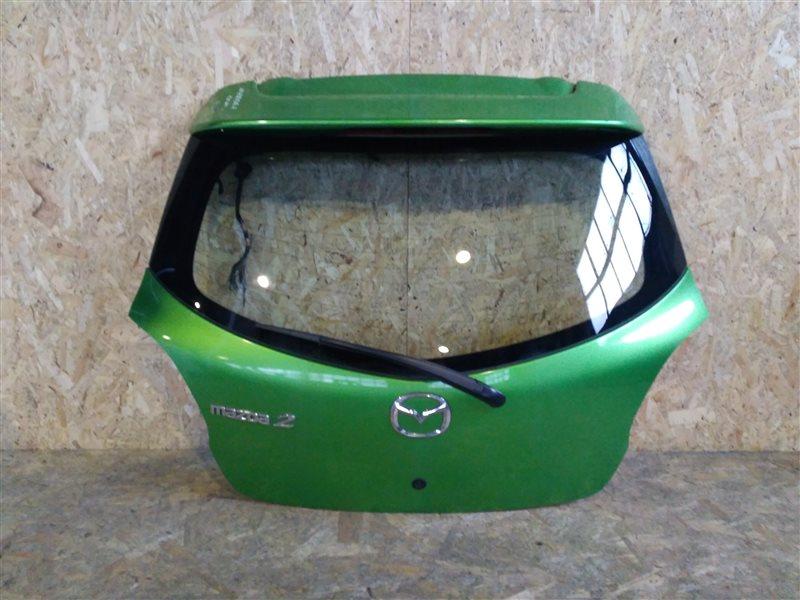 Дверь багажника Mazda 2 DE 2010 (б/у)