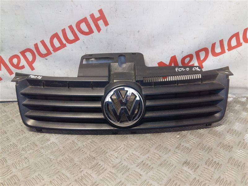 Решетка радиатора Volkswagen Polo IV 2002 (б/у)