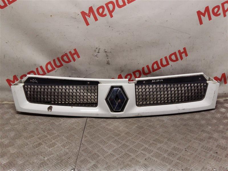 Решетка радиатора Renault Master 2004 (б/у)
