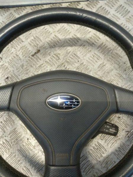 Подушка безопасности в рулевое колесо Subaru Forester S11 2.0 2007 (б/у)