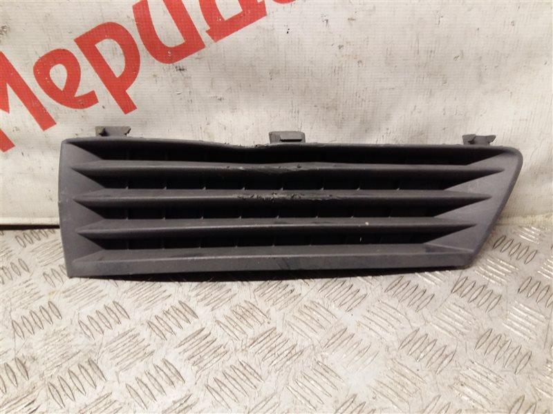 Решетка в бампер левая Opel Zafira B 2006 (б/у)