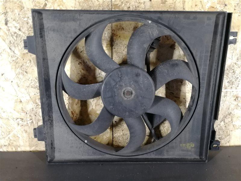 Вентилятор радиатора кондиционера Kia Cerato 2006 (б/у)