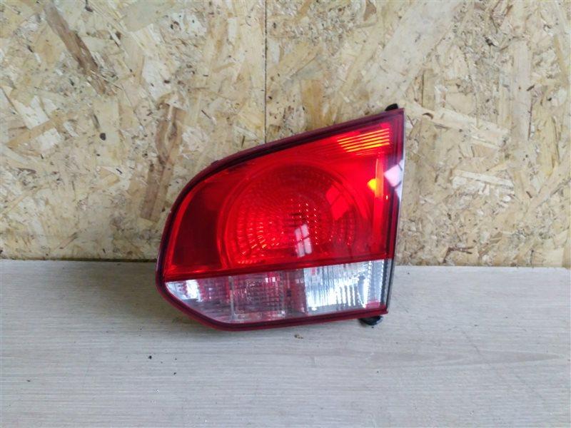 Фонарь задний внутренний правый Volkswagen Golf VI 2012 (б/у)