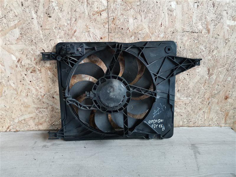 Вентилятор радиатора Nissan Qashqai J10 2007 (б/у)
