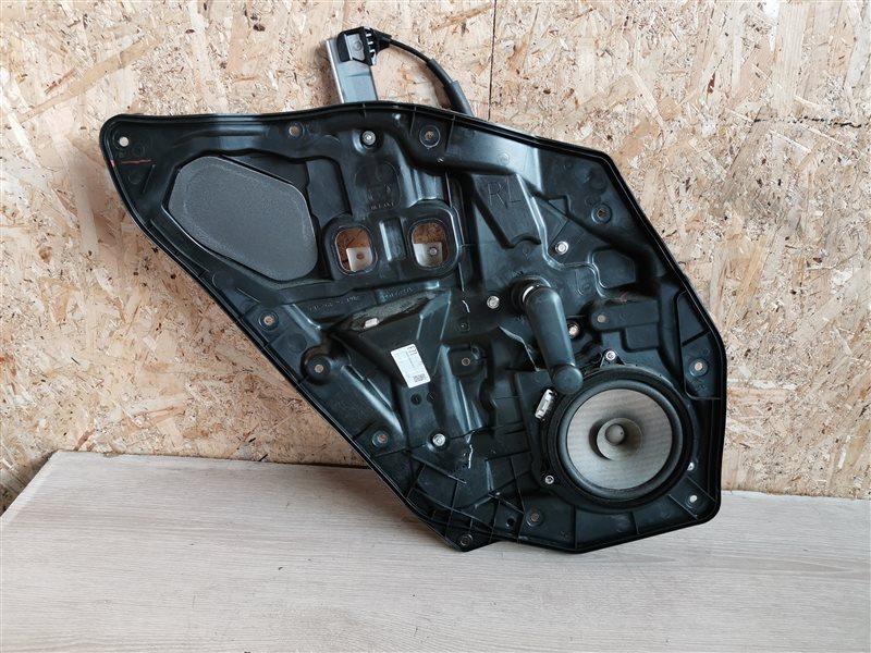 Стеклоподъемник механический Mazda 2 DE 2010 задний левый (б/у)