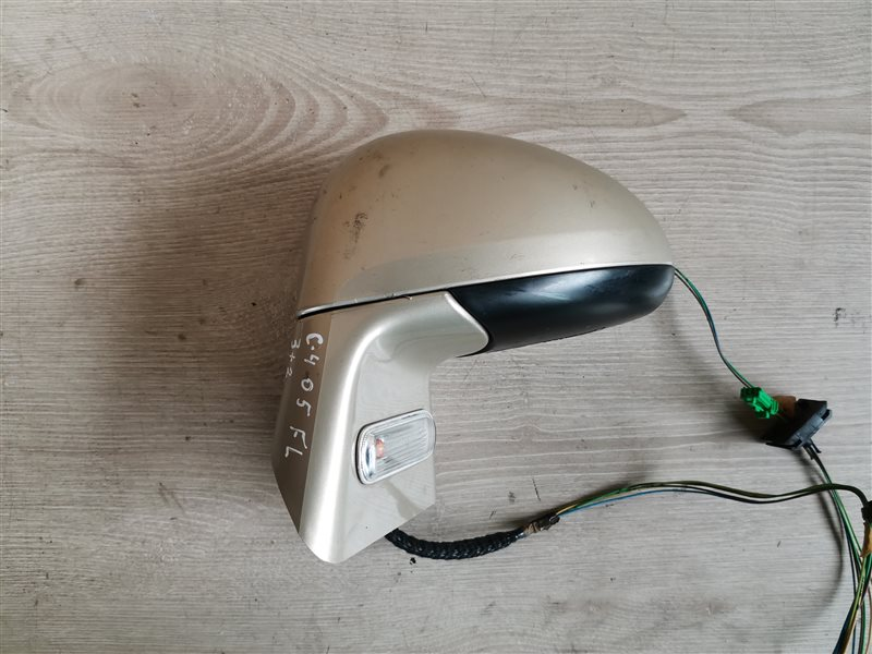 Зеркало левое электрическое Citroen C4 2005 (б/у)
