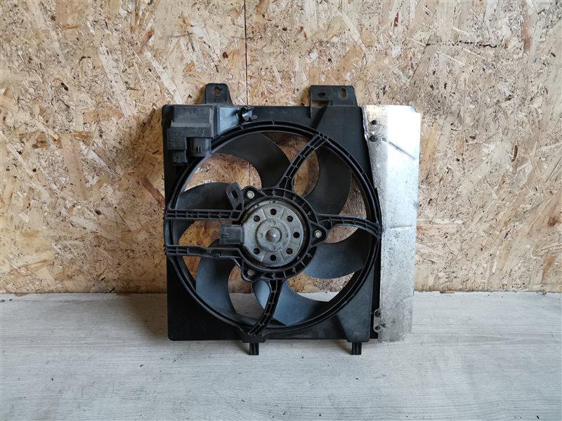 Вентилятор радиатора Peugeot 207 2009 (б/у)