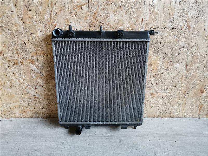 Радиатор основной Peugeot 207 2009 (б/у)